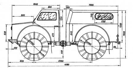Как сделать самодельный трактор или мотоблок 176