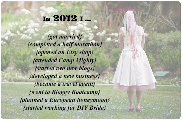 My Amazing Year - 2012 in Review