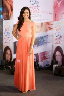 Actress Ritu Varma Picture Gallery in Long Dress at Prema Ishq Kadhal Movie Audio Launch  0027
