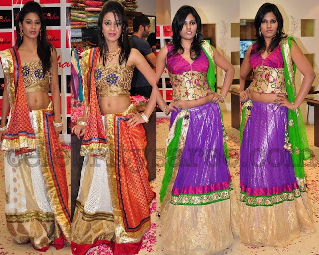 designer lehenga sarees for teenagers saree blouse patterns