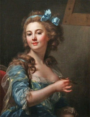 Famous french women artists marie gabrielle capet french artist 1761