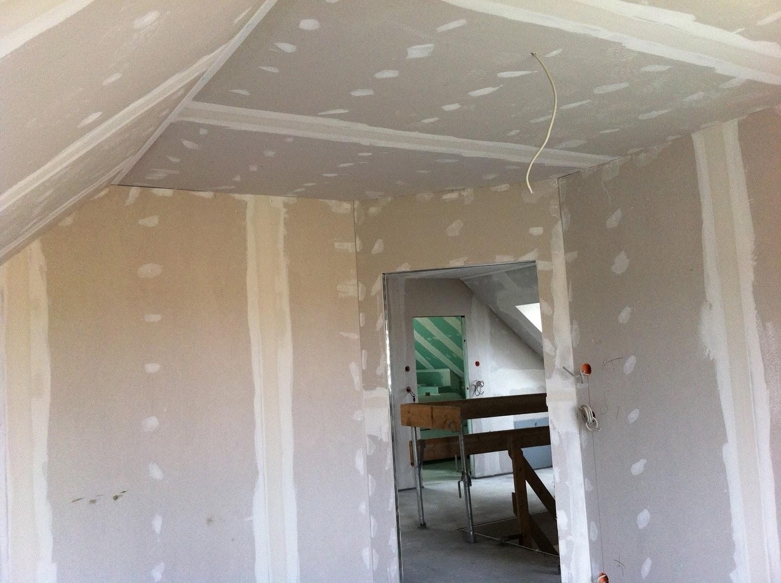 wir bauen zuhausehaus edition 425 ger st weg estrich drin und spachtel arbeiten fertig. Black Bedroom Furniture Sets. Home Design Ideas