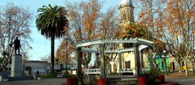 Plaza Herosa, Rosario Colonia, Uruguay