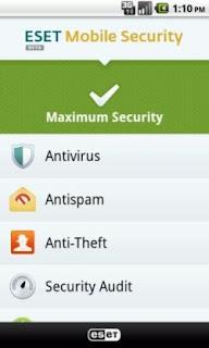 Eset Security Antivirus App on DDLight Virus Infected