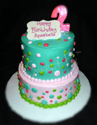 Buttercream Polka Dot Cake