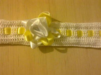Детская вязаная повязка для волос для девочки крючком