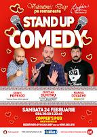 Stand-Up Comedy Sambata 24 Februarie Bucuresti