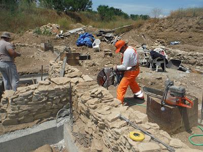 Μετακινήθηκαν οικίες του 1.700 π.Χ.
