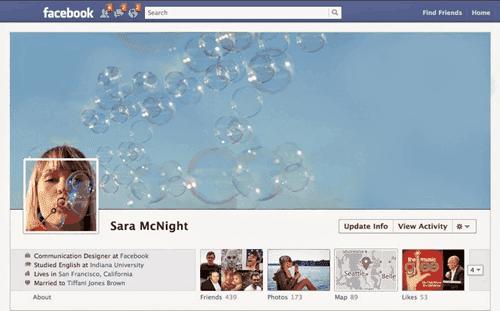 Contoh Foto Sampul Facebook Menyatu Dengan Foto Profil