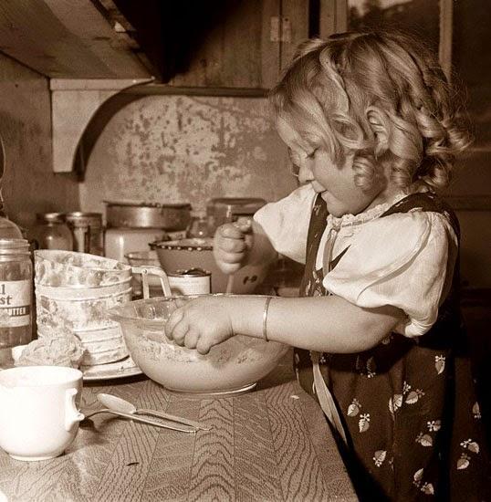 child coocking