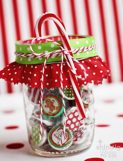 Christmas Hershey's kisses free printable