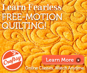 Fearless Freemotion quilting link to craftsy