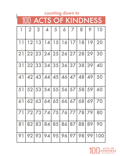 Toddler Approved!: 100 Acts of Kindness Challenge 2015