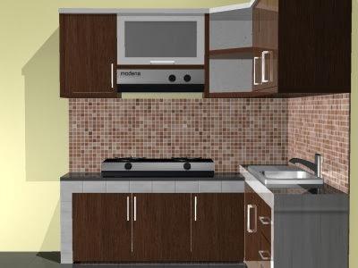 Menata Dapur Minimalis