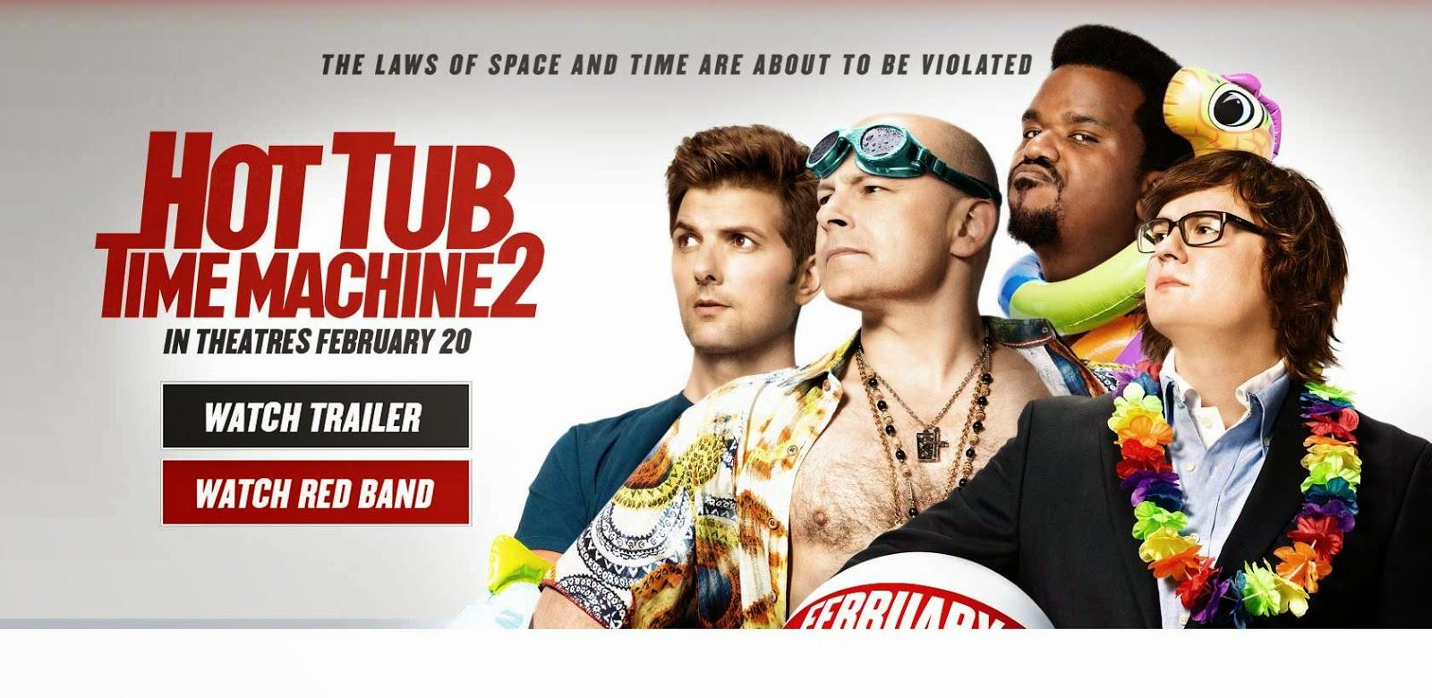 tub time machine 2 poster