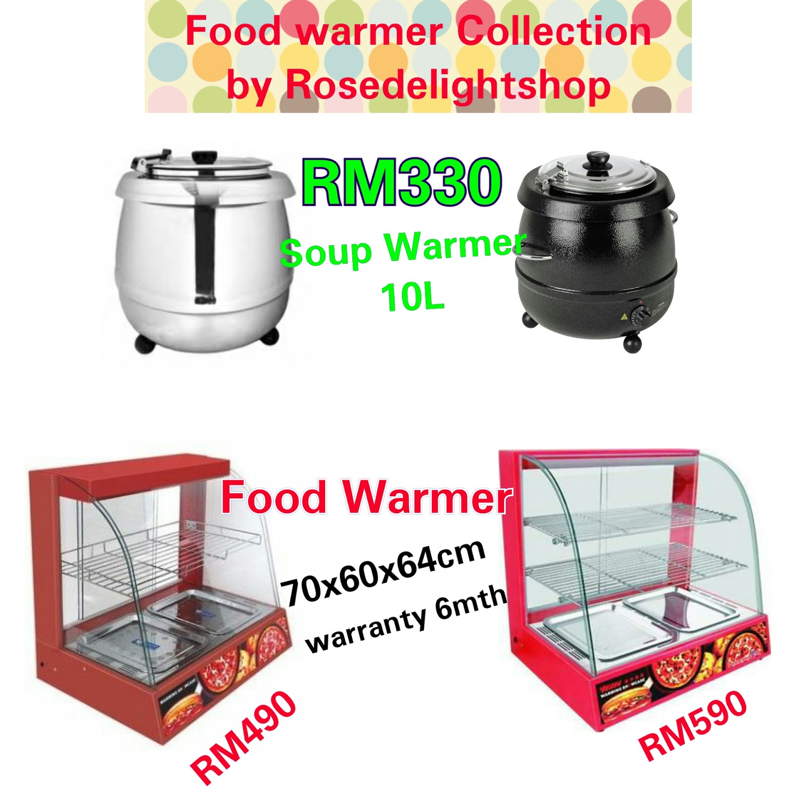 Kateloq Food Warmer