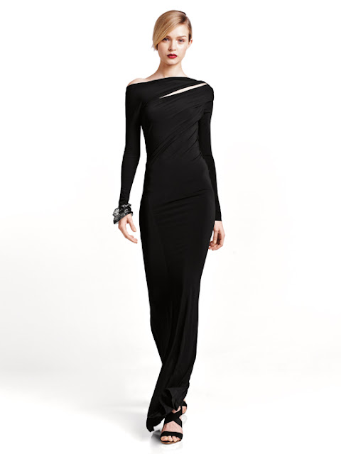 Feminine modern lookbook 2013 by Donna Karan