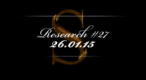 Research #27 - 26.01.15