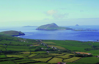 View of the Blasket Islands
