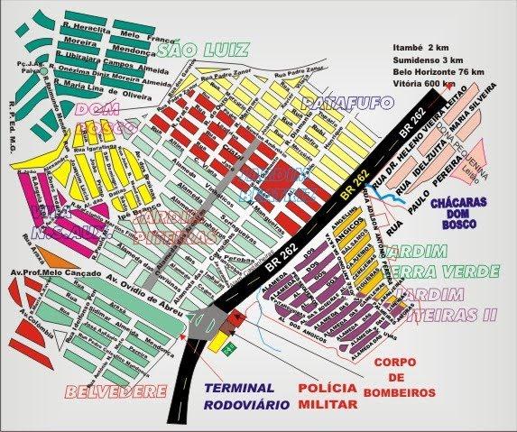 Entrada Principal de Pará de Minas