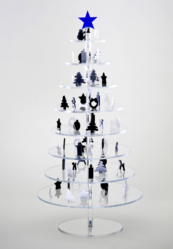 Modern christmas trees 18 pic awesome pictures for Modern christmas decorations online