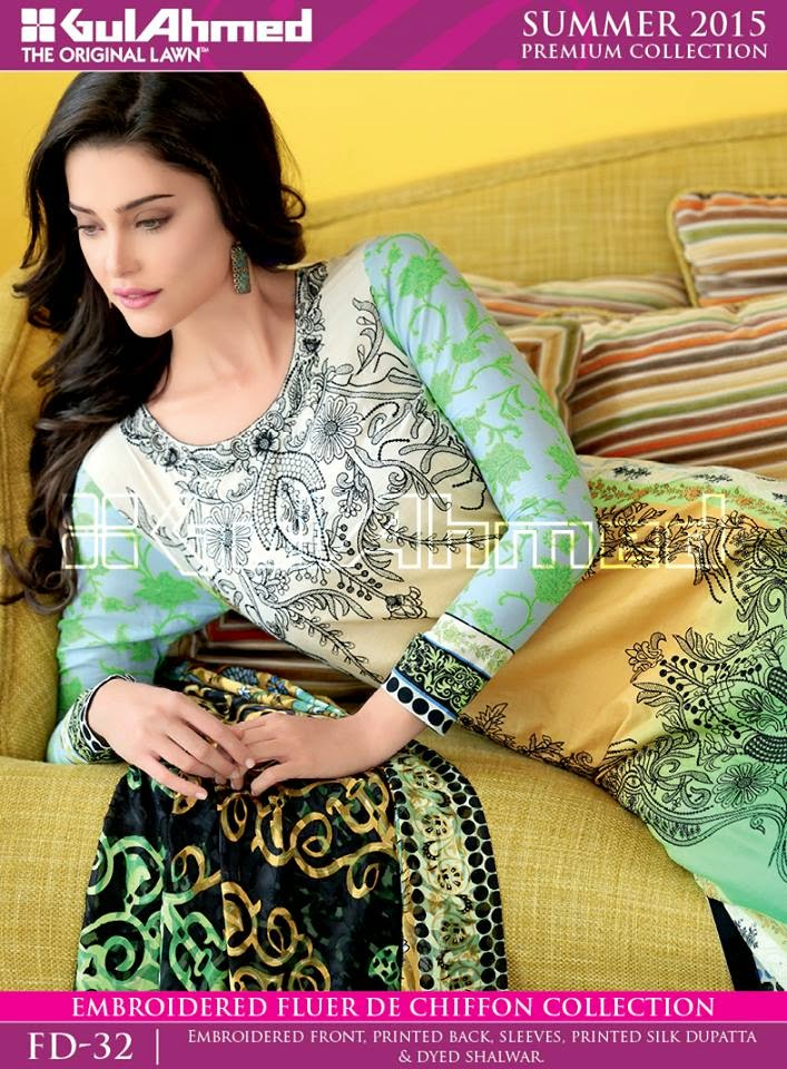 Gul Ahmed Spring Summer Lawn Prints