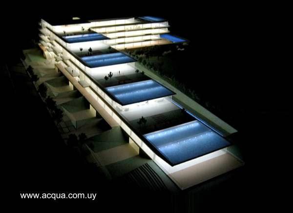 Imagen del renderizado del proyecto Edificio Acqua en Punta del Este