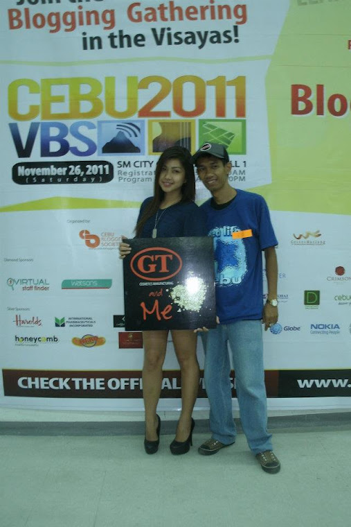 GT Cosmetics - Visayas Blogging Summit 2011