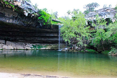 Piscina natural Hamilton Pool – EUA