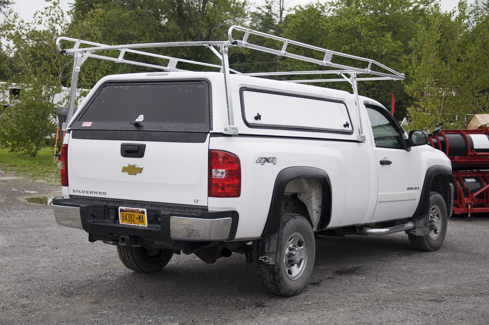 A R E Cx Fiberglass Truck Cap With Hd Aluminum Hauler