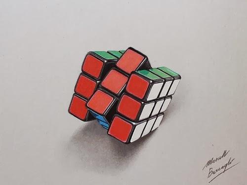 16-Rubik's-Cube-Graphic-Designer-Illustrator-Marcello-Barenghi-Hyper-Realistic-Every-Day-Items-www-designstack-co