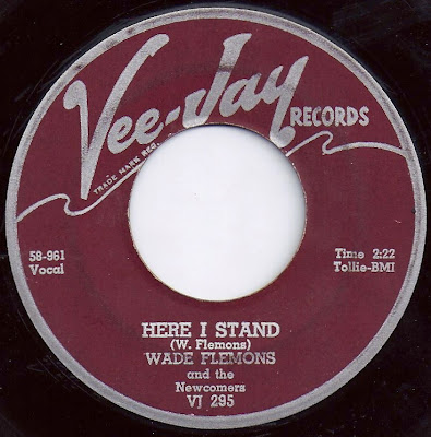 Wade Flemons and the Newcomers - Where I Stand - My Baby Likes To Rock