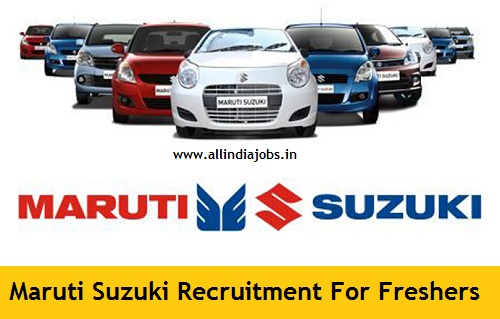 Maruti Suzuki Placement