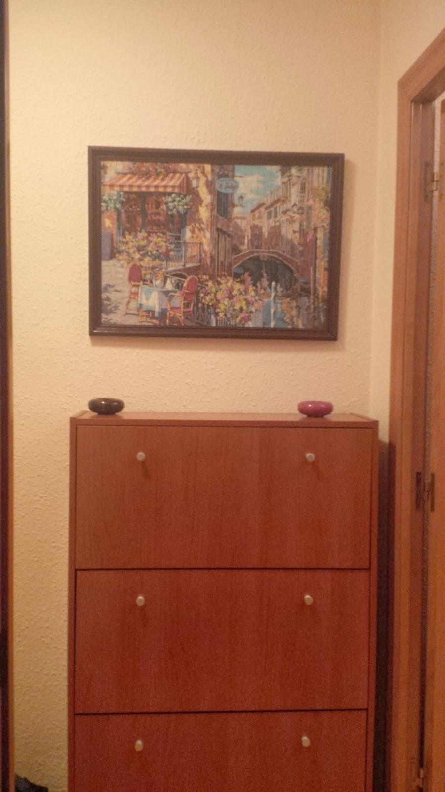 lascosasdepat: Como hacer tu mismo un marco para puzzle en casa