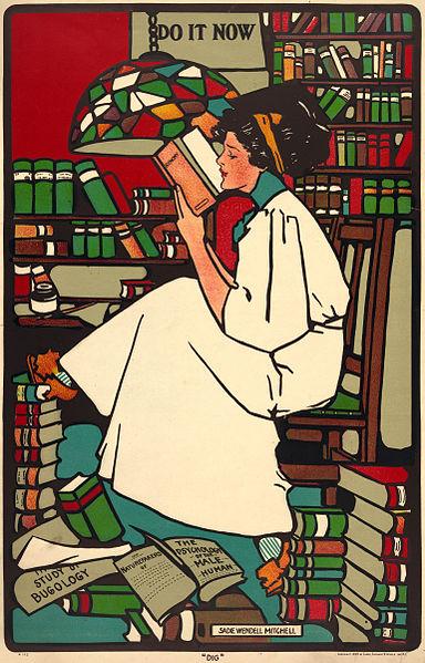 Bibliophilia, Bibliophilism, Literature, Love, Worship, Adoration, Dig, Sadie Wendell Mitchell