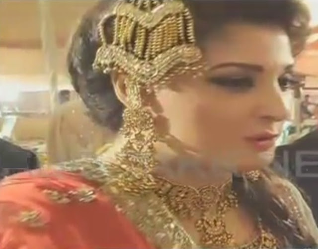 Wedding Pictures of Mehr un Nisa Safdar Daughter of Maryem Nawaz