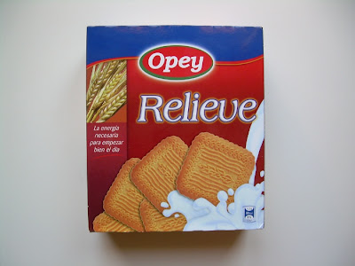 Galletas relieve OPEY (Lidl)