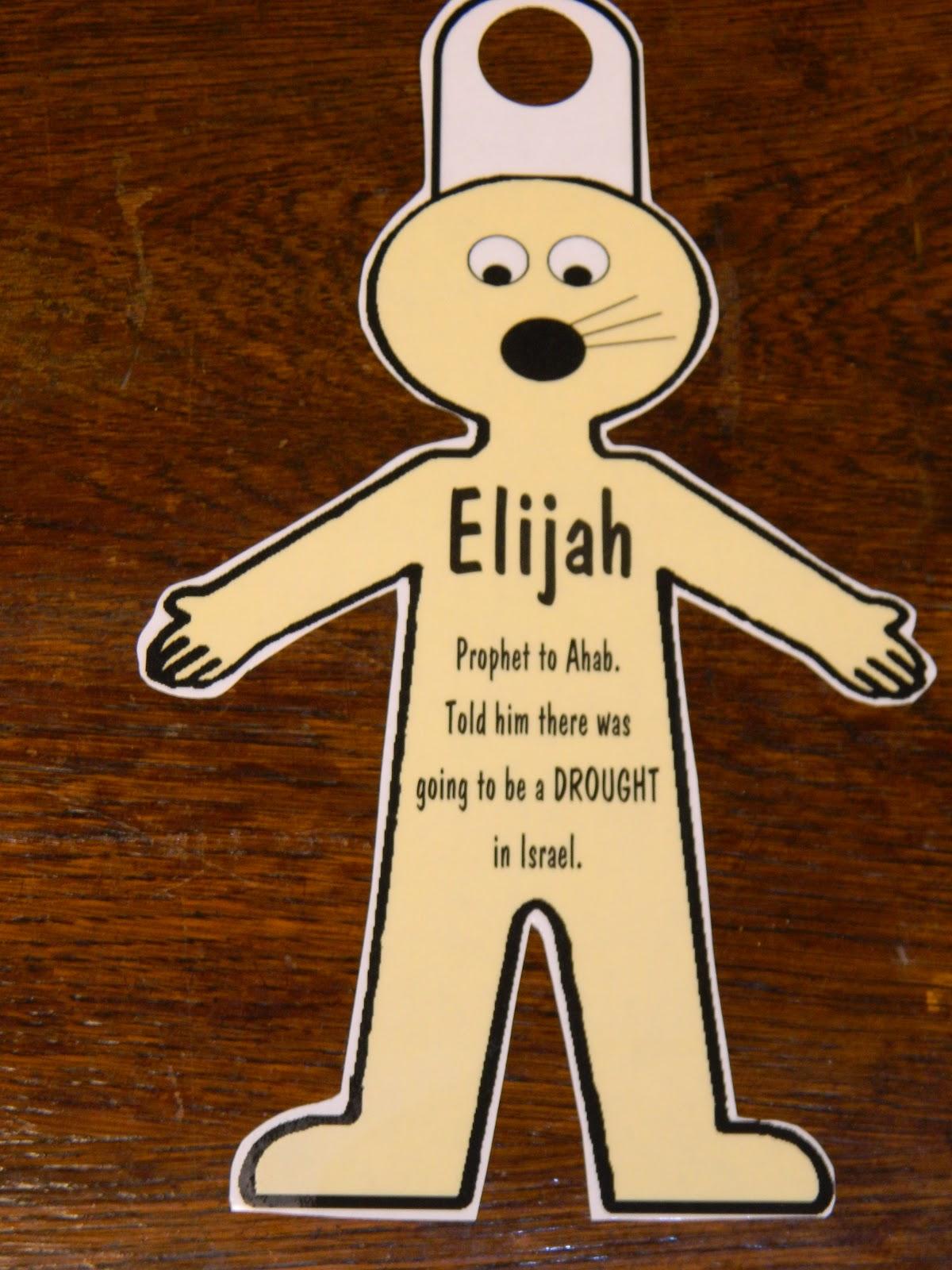 Elijah And The Widow Crafts For Preschoolers