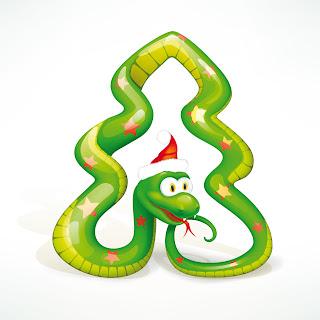 Змея 2013. С новым 2013 годом.