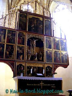 altar biserica biertan