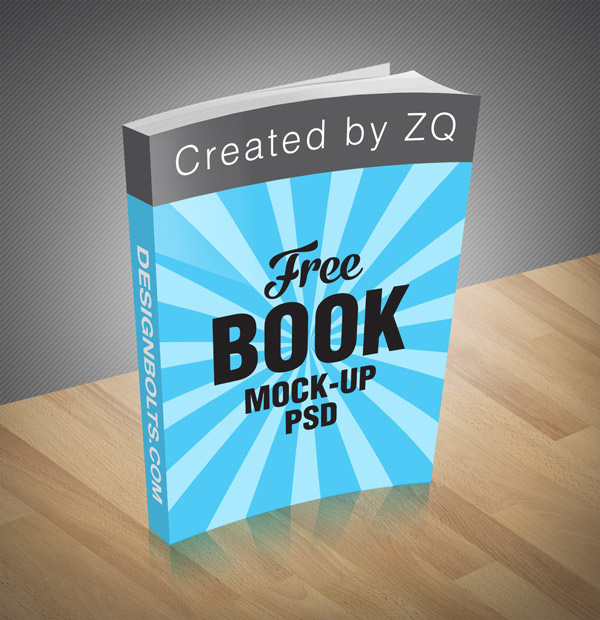 Download Gratis Mockup Majalah, Brosur, Buku, Cover - Free Book Mock-up PSD