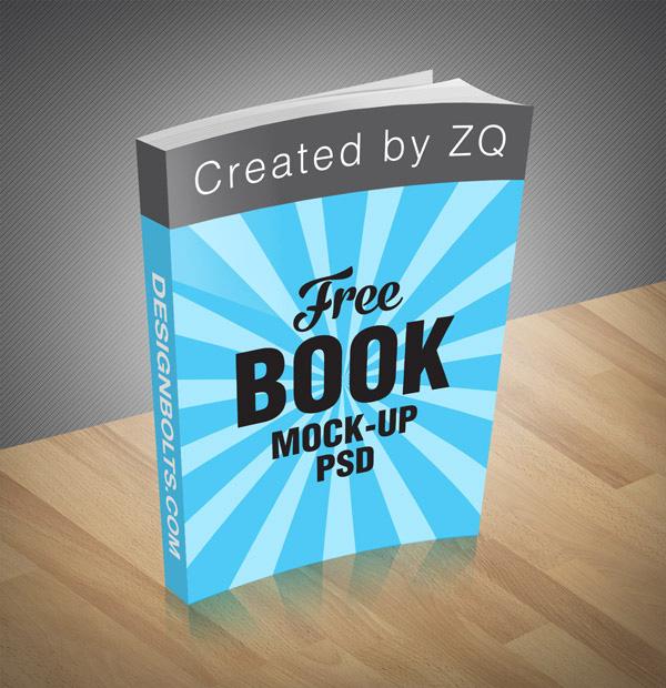 Download Gratis Mockup Majalah, Brosur, Buku, Cover - Free Book Mock-up PSD