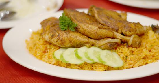 Zabadani Chicken Kabsa