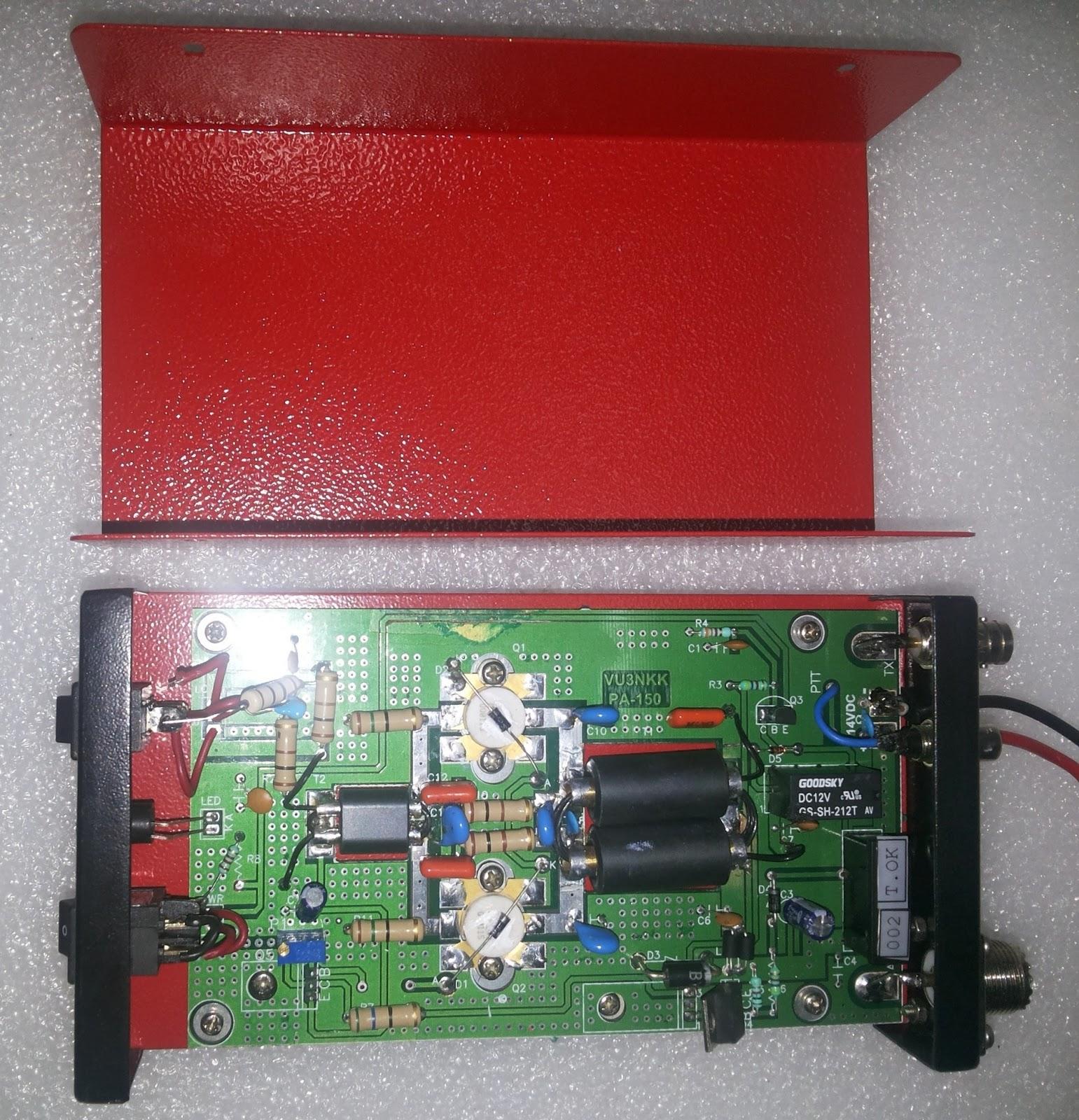 Home Brew Corner: PA150 HF LINEAR 200W Amplifier on hi fi amplifier, solid state hf amplifier, transistor amplifier, x force base amplifier, 2 meter ham radio amplifier, 4cx250b grounded grid amplifier, homemade amplifier, cobra cb amplifier, fatboy 700 base amplifier,