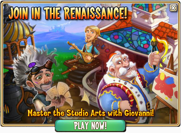 Join in the Renaissance - Giovanni Quest