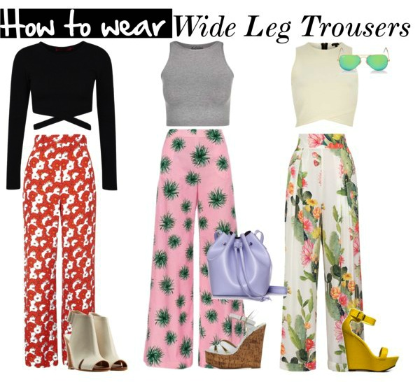 Summer Trend: Wide Leg Trousers