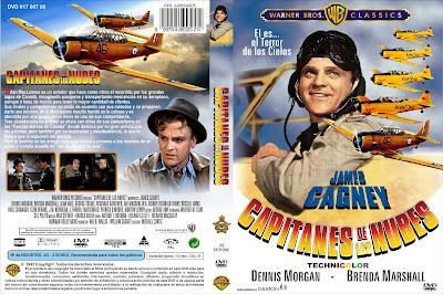 Capitanes de las nubes | 1942 | Captains of the Clouds | Cover, dvd, caratula