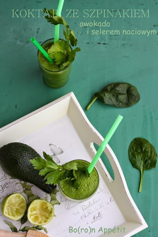 zielony koktajl, detoks