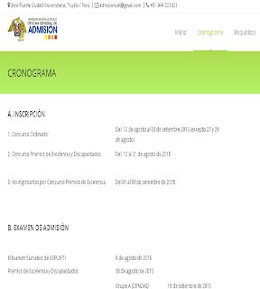 Resultados III Examen Sumativo CEPUNT 2015 II 9 de Agosto