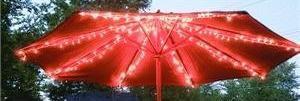 Patio Umbrella Lights: String Patio Umbrella Lights